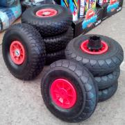 A set of rubber wheels for children's electric vehicles (jeeps and kV