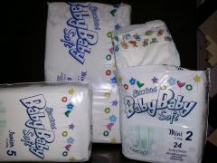 Baby diapers Baby Baby Soft (Slovakia)