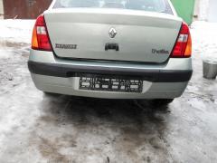 Бампер передний, задний Renault Clio-Symbol, Рено Клио-Симбол