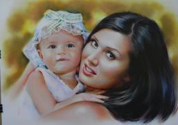 Нарисовать портрет по фотографии Заказать портрет Украина