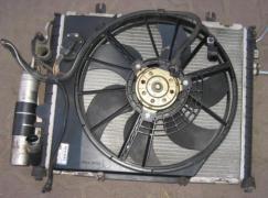 Радіатор кондиціонера Renault Sandero, Рено Сандеро