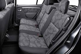 Renault Sandero Interior, Map compartment, Airbag