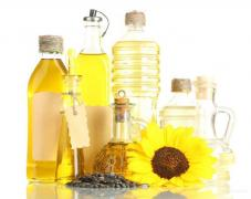 Sunflower oil from a factory from Kharkov