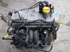 The engine and components on the Renault Sandero, Renault Sander