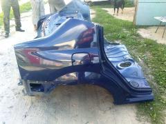 The rear wings, front Dacia Logan, Giving Logan