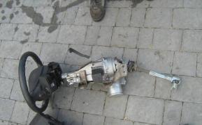 The steering rake, a column on Renault Fluence, Renault Fluence