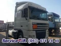 Used and new spare parts for DAF